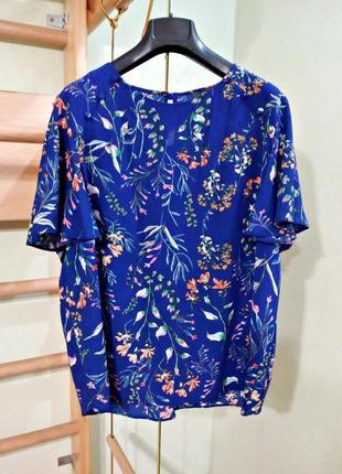 Блуза в цветочный принт 18