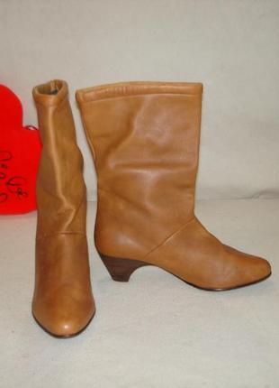 Сапожки кожаные бренд gabor