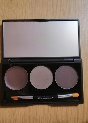Професійні тіні та гель для корекції брів bh cosmetics