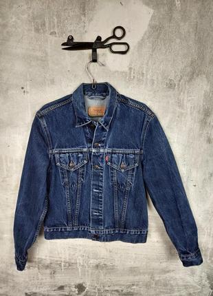 Джинсовая куртка levis 70500 винтаж s