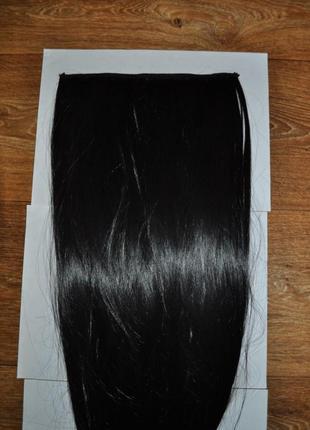 Волосы трессы накладные черные в наличии