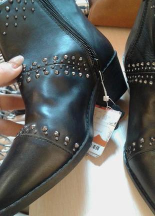 Распродажа.ботинки stradivarius 37 р. полусапожки 24 см.