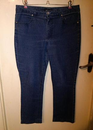 Стрейчевые,зауженные джинсы с карманами, 46 размера.,ellos,швеция и 90% батал