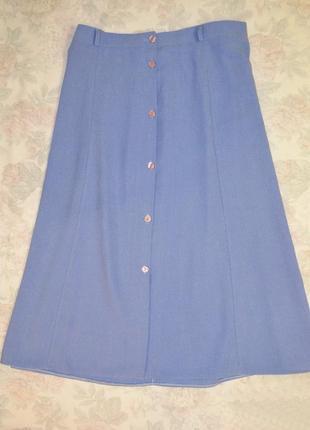 Нежная юбочка для девушки с пышными формами, 20 размер