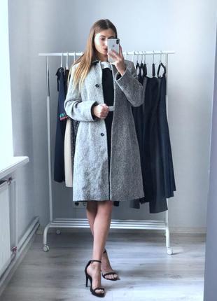 Пальто next 100% wool