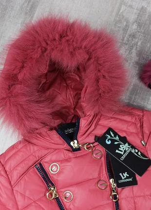 Замечательные зимние курточки для девочки2