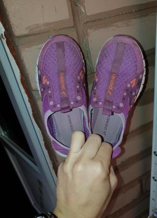 Кроссовки тапочки на девочку demix