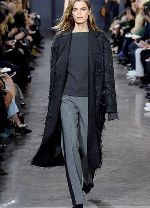 Супер брюки прямые с высокой талией натуральные! zara