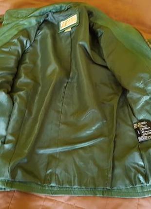 Кожаная куртка michael kors2 фото