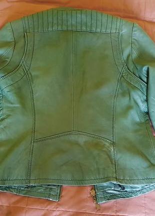 Кожаная куртка michael kors3 фото