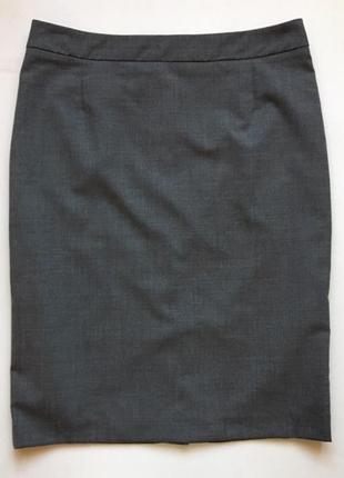 Идеальная классическая  шерстяная базовая юбка-карандаш фирмы days like this оригинал