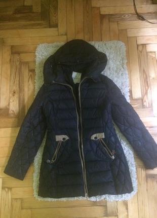 Очень теплый пуховик куртка moncler