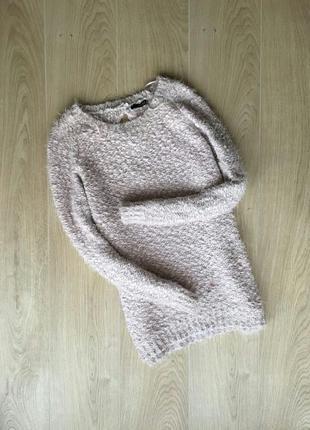 Мягусенький, нежный, очень приятный к телу свитер-травка