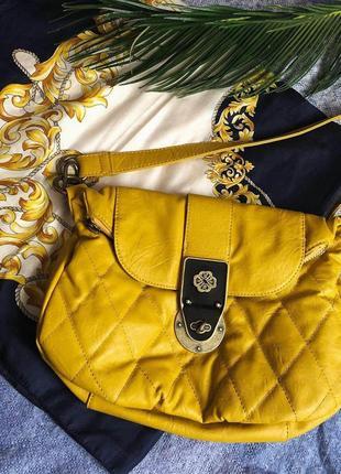 Желтая сумка mischa barton
