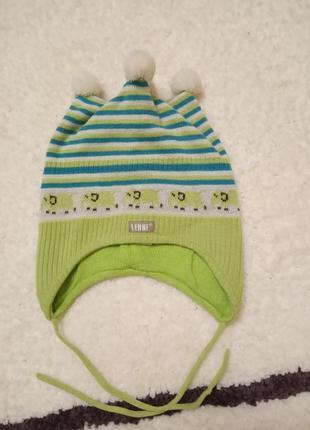 Зимняя шерстяная шапка lenne 50см