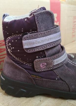 Зимние ботинки ecco gore-tex. размер 27.5