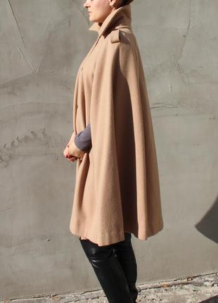 Пальто кейп пончо из кашемира m-l