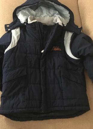 Курточка для мальчика от adidas