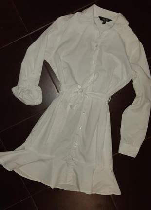 Платье рубашка миди lipsy