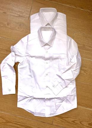 Школьная рубашка george 6-7 лет