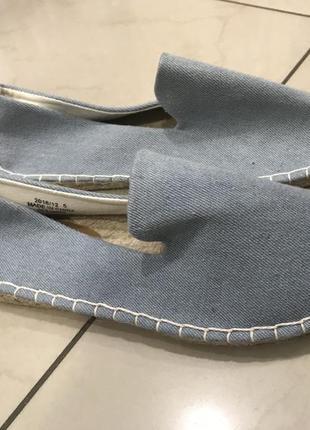 Ліквідація товару до 10 грудня 2018 !!! джинсовые эспадрильи asos