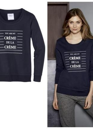 Свитшот толстовка свитер хлопок esmara xs