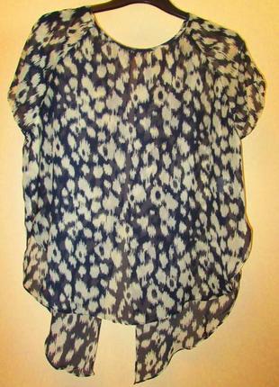 Акция 1+1=3 распродажа легкая невесомая блуза papaya размер 10