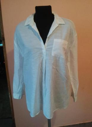 Красивая блуза рубашка 12/14 раз.