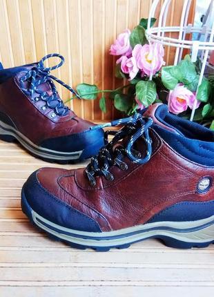 Кожаные ботинки от timberland 33,р