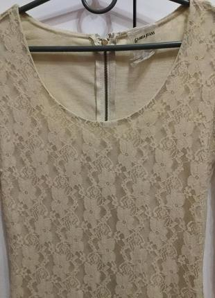 Ажурное платье глория джинс