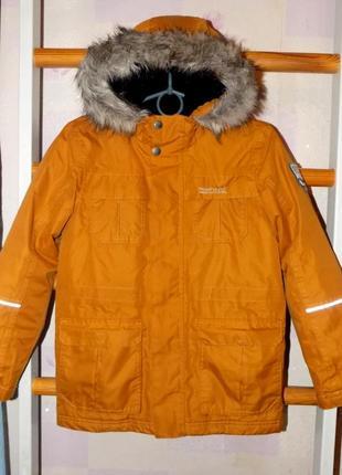 Мембранная трекинговая куртка regatta great outdoors isotex 5000 на 9-10 лет рост 140см