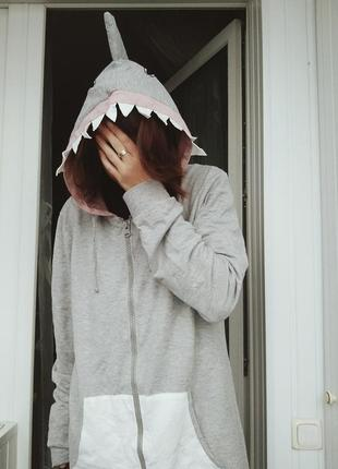 Кигуруми акула river island пижама комбинезон аниме косплей кофта