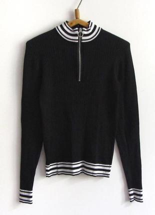 Красивый свитерок в рубчик h&m