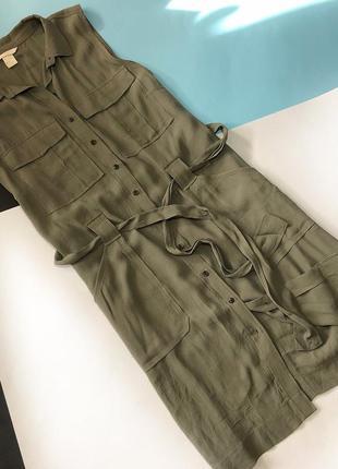 Актуальне плаття кольору хакі