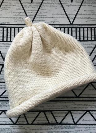 Шикарная шапка hand made очень тёплая!