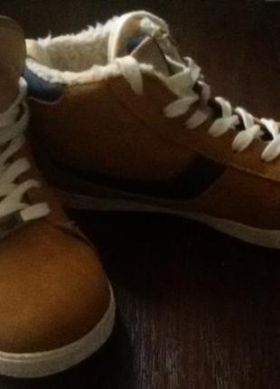 Теплые зимние замшевые кроссовки next