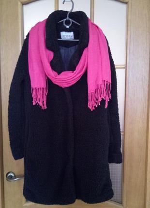 Шубка искуственная oversize, пальто