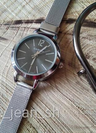 🆕 часы минималистичные, topsilver, металлические часы маленький циферблат