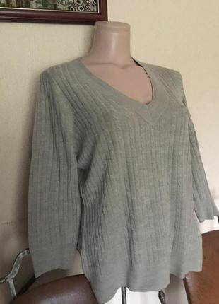 Фирменная британская кофта свитер джемпер от bhs limited р.л-ххл