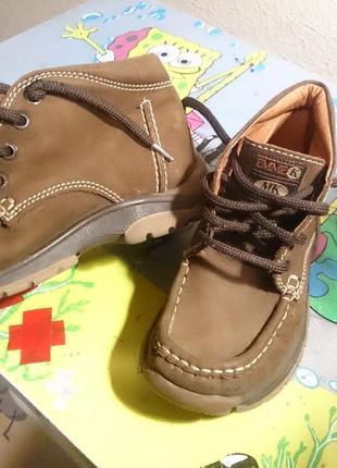 Кожаные ботиночки осень-весна