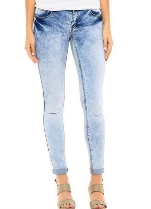 Шикарные джинсы house синие голубые светлые 36 размер на бирке с-м