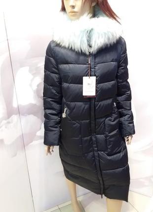 Куртка женская damader. натуральный мех.