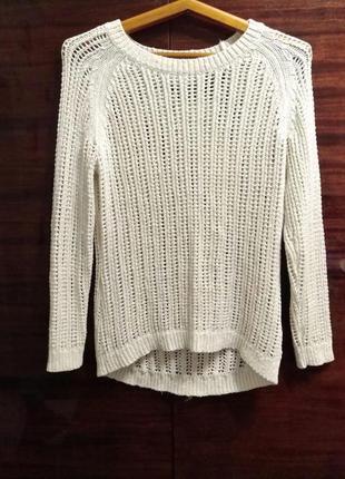Белый свитер yessica