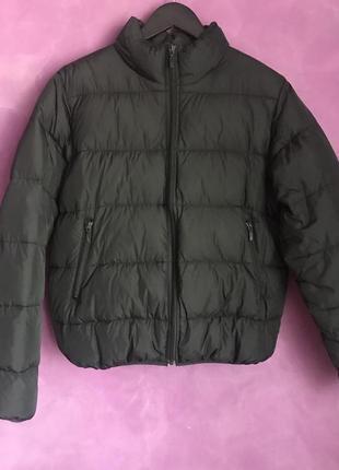 Коротка пухова куртка h&m розмір 40