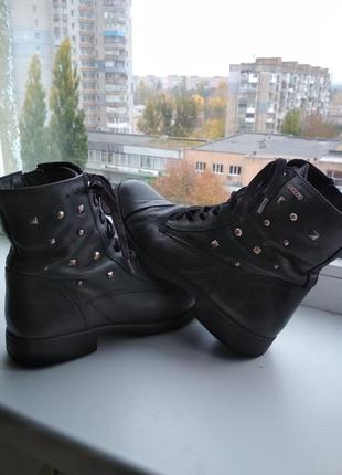 Ботинки натуральная кожа geox