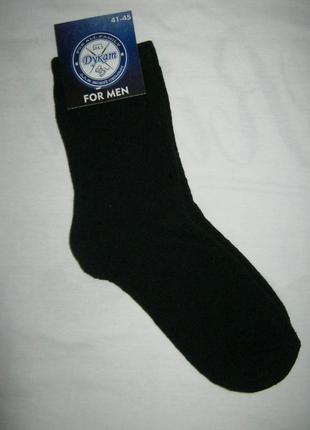 Теплые махровые черные новые мужские носки р 40 – 45