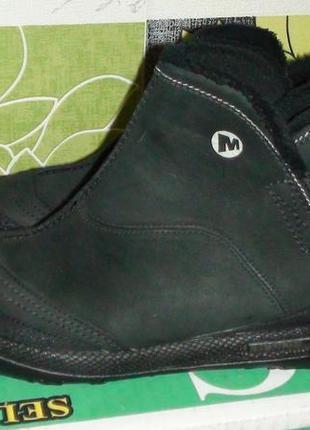 Merrell - шкіряні черевички. р - 37.