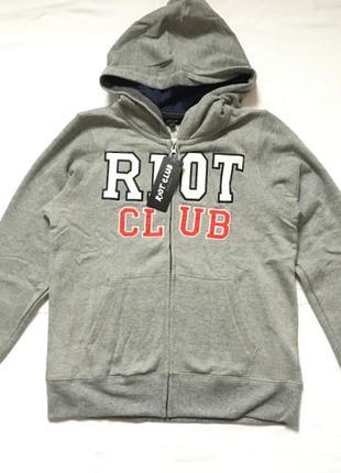 Толстовка riot club на мальчика 13-14 лет