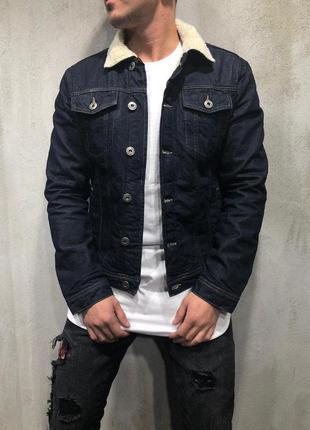 Стильная мужская джинсовка