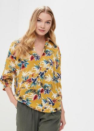 Оригинальная легкая блузка-рубашка от sweewe